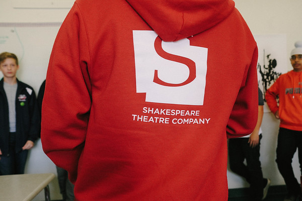 Shakespeare Actor Visit 11-10-17