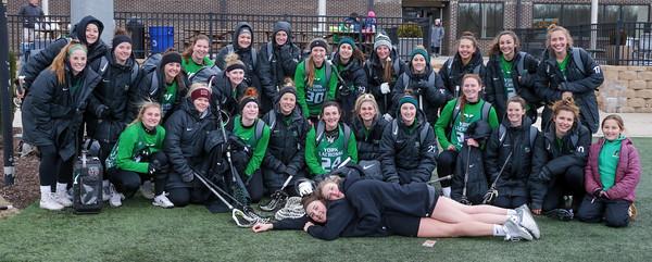 2/8/2020 YCP Women's Lacrosse Scrimmage Day @ Stevenson Univ.