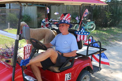 July 4, 2016 Golf Cart Parade