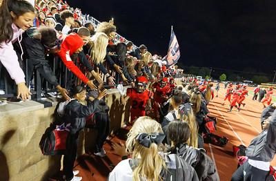 2018, September 21 vs. Grandville.  Homecoming.