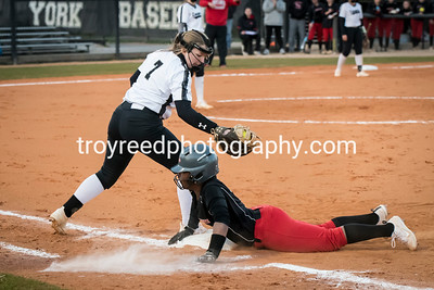 York vs South Pointe Varsity Softball