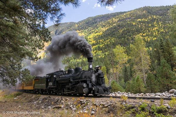 September 23, 2018 Durango Train Day 2