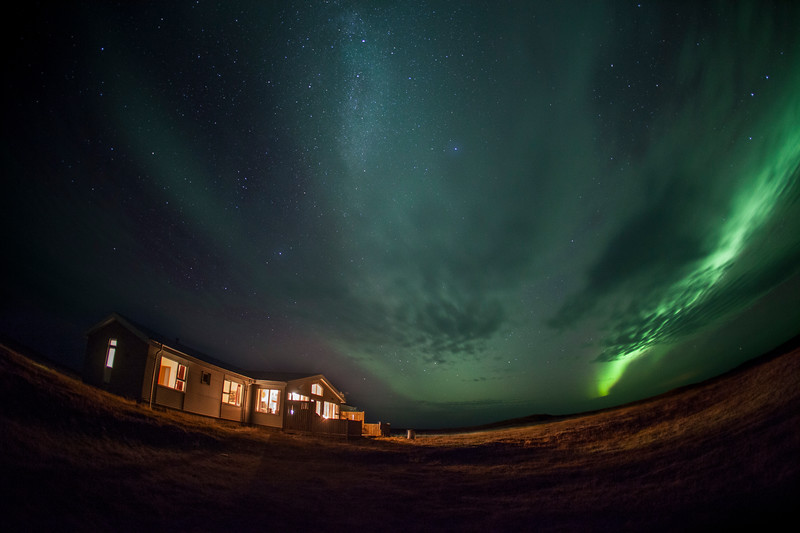 Northern lights over Cabin - Iceland.jpg