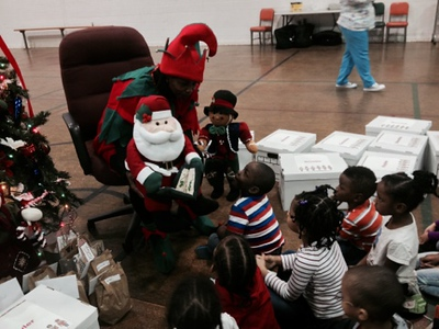 East Clinic Provides Gifts for Head Start Students (Dec. 15)