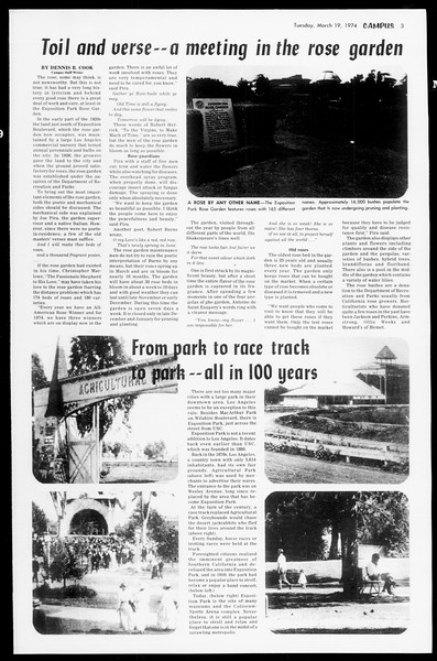 Daily Trojan, Vol. 66, No. 93, March 19, 1974