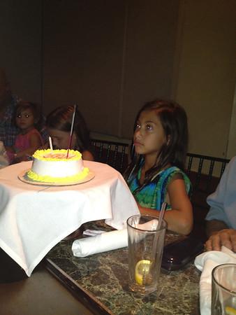 9th Birthday 2012 Photos