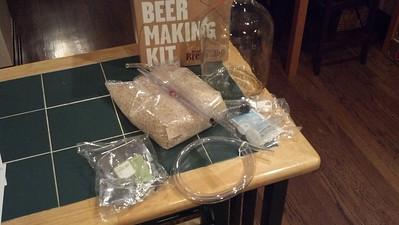 Beer Makin' - Jan. 2013
