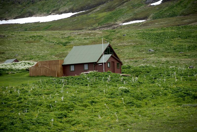 Aðalvík - Sæból. Garðar 2014.