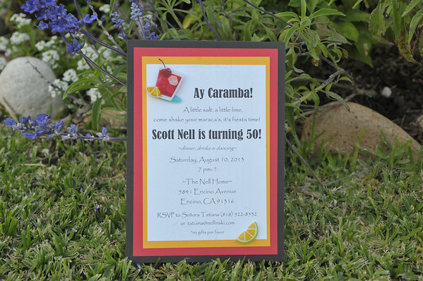Scott Nell's 50th Birthday Party  August 10, 2013