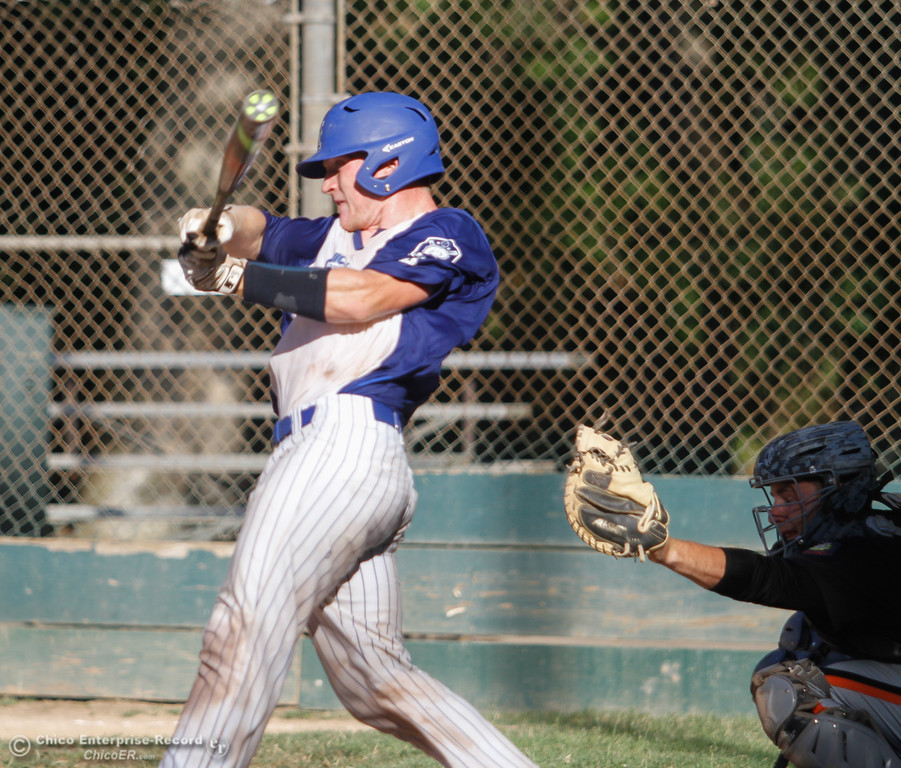 . Chico Nuts hosts Oroville Post 95 baseball in the last home games of the season Wednesday July 12, 2017 at Ron Doryland Field in Chico, California.  (Emily Bertolino -- Enterprise-Record)