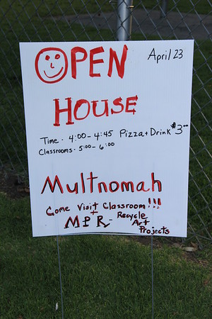 Multnomah School Open House Misc 4/23/15