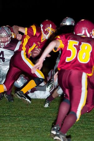 Winlock HS vs. Montesano HS, varsity, October 30, 2009