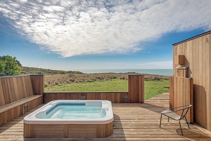 Ocean Views from Hot Tub