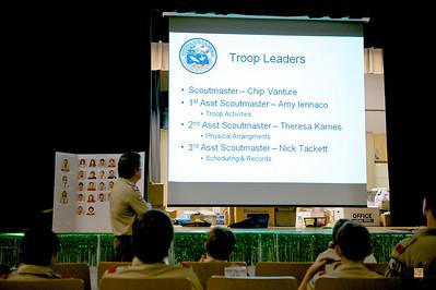 Troop Meeting, August 23, 2009