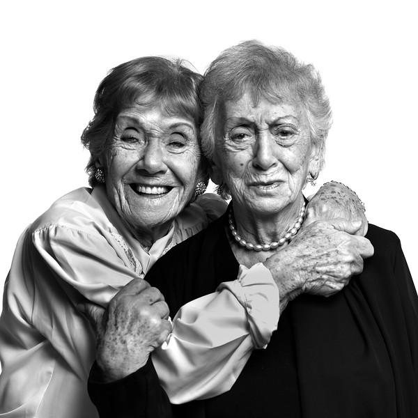 #Ana y #Fanny - 89 y 86 años