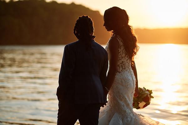 Briana Martin - Keeshawn Sloan Wedding