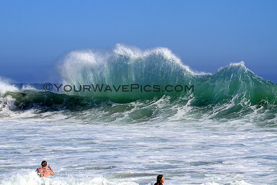 Big South Swell Hits OC - Crystal Cove  7/6/14