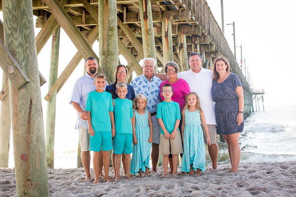 Ann T Family  North Topsail Island Beach Photography