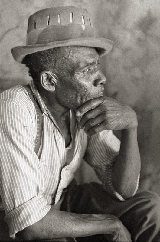 """Mississippi"" Joe Callicott, bluesman, Nesbit, MS"
