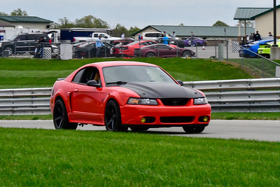 2020 SCCA TNiA Sept 30 Pitt Race Int Red Blk Mustang
