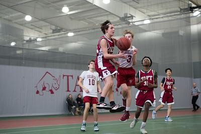 1/27/18: Boys' Fourths Basketball v Gunnery