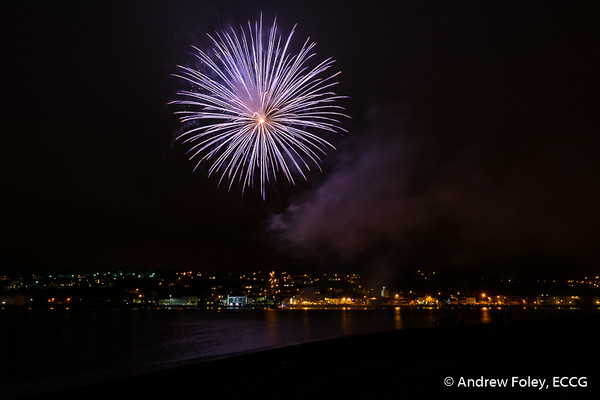 Youghal Queen of the Sea Fireworks - 15/07/2017
