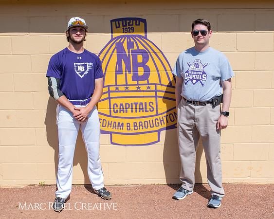 Broughton varsity baseball vs Sanderson. April 24, 2019. 750_0141