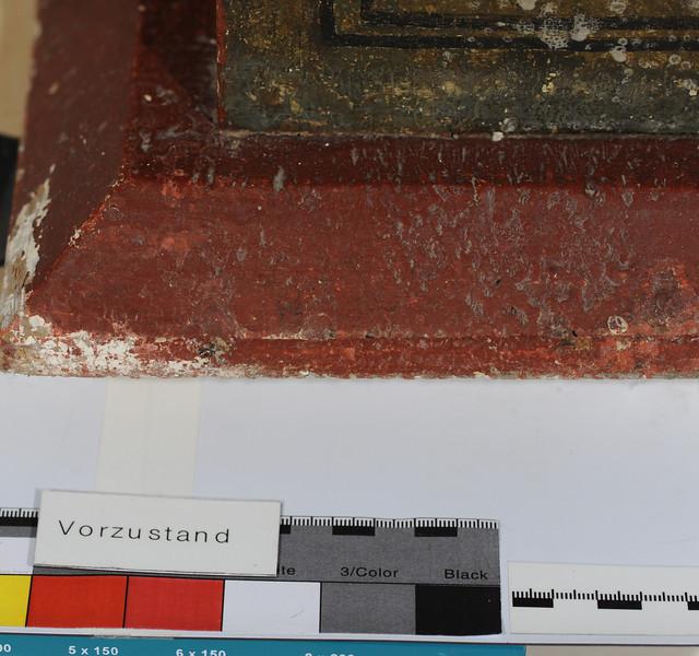 Vorzustand: Anna Altar, Predella, rechte Seite AAF_0994_27-10-2011