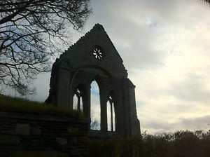 Valle Crucis Abbey in Llangollen, Wales