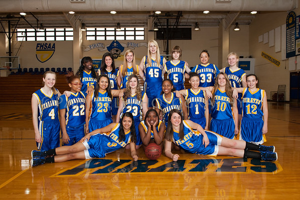 FBHS Basketball 2012