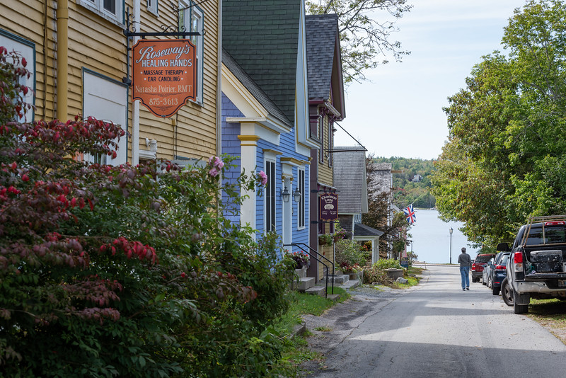 Shelburne's historic waterfront