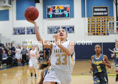 Girls Basketball: Fluvanna vs Loudoun County 2.28.15 ( by Gary Sousa)
