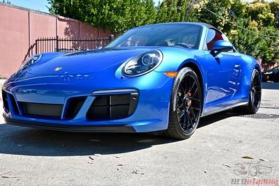 2017 Porsche 911 Targa Sapphire Blue Metallic