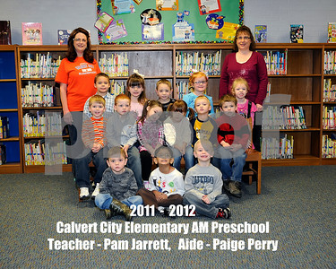2011 - 2012 Calvert City Elementary Class Groups, January 24, 2012