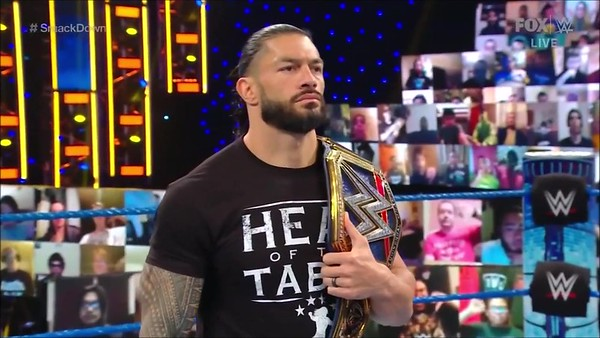 Roman Reigns - Screencaps / SD Live Nov. 27, 2020