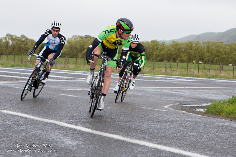 Action from Race 1 of the 2014 Trust House Team Series held at Gladstone, Wairarapa, New Zealand on a cold, wet and windy Saturday, 20 September 2014. Photos: john.mathews@xtra.co.nz