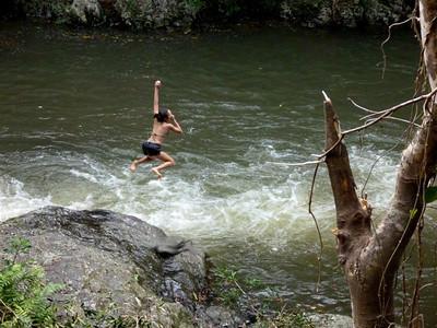 Australia: Crystal Cascades near Cairns
