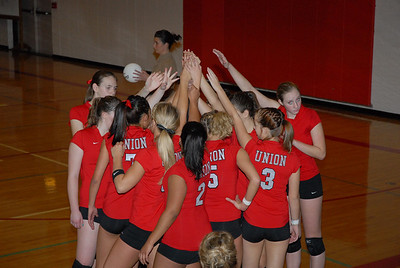 <center><br>Lady Titan Volleyball<br>Union at Fort Vancouver<br>Oct 28, 2008</center>