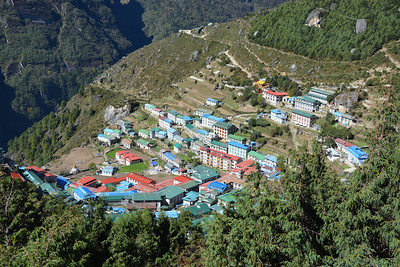 Day 3 - Namche Bazar (Oct 10)