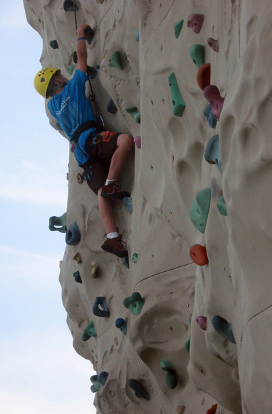 """Views on the """"Navigator of the Seas.""""  From rock climbing to ...."""