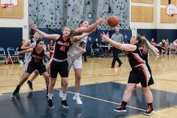 2019-20 Girls JV2 Basketball vs. Molalla