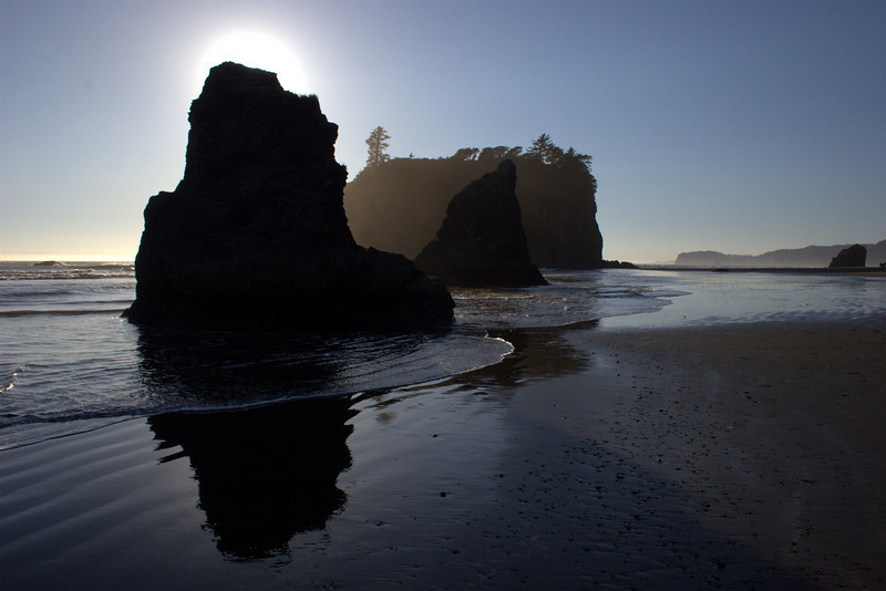 Ruby Beach: Shades and Highlightes