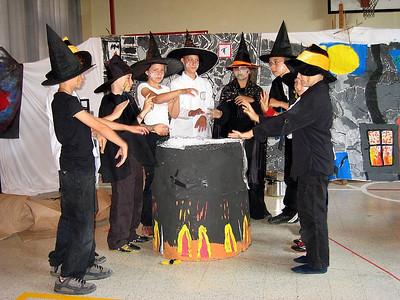 Heksenschool, 4de lj