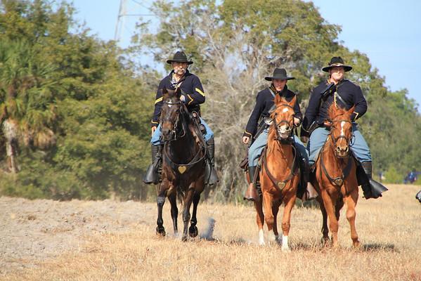 Civil War Re-enactment,  Brooksville, Florida