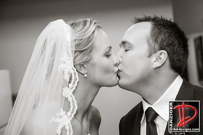 Brooke (Draper) and Sam McAfee wedding 9-1-12
