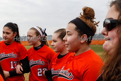 Varsity Softball v Woodson 3/21/15