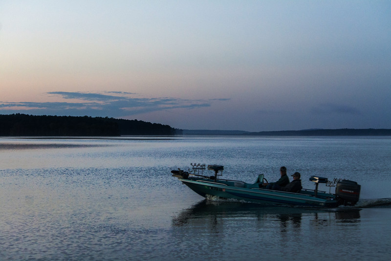 Jordan Lake Sunrise