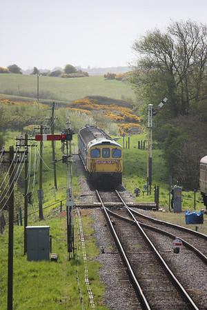 Push-Pull/4-VEP Running Day - Swanage Railway, 9th May 2013
