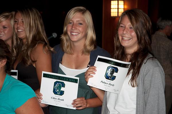2009 Chloe's Swim Team Awards Dinner