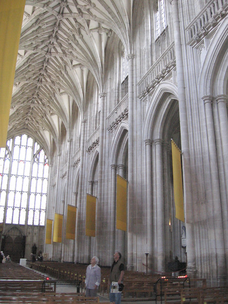 The nave, Winchester Cathedral